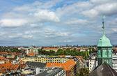 Panorama över köpenhamn — Stockfoto