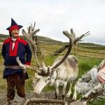 Deer and reindeer breeder — Stock Photo