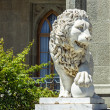 Lion sculpture - Stock Photo