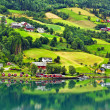Olden, Norway. — Stock Photo