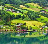 Olden, Norway. — Stock Photo