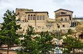 Old Christian church of Saint Irina in town Mustafa Pasha, Turke — Stock Photo