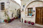 Old hotel in Mustafa Pasha, Cappadocia, Turkey — Stock Photo