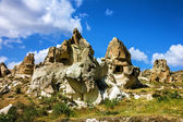 Mountain landscape, Cappadocia, Turkey — Stock Photo