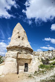 Old Christian church of Saint Nazar in Goreme, Cappadocia, Turke — Stock Photo