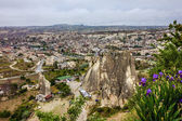 Goreme town, Cappadocia, Turkey — Stock Photo