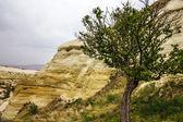 Mountain landscape, Goreme, Cappadocia, Turkey — Stock Photo