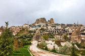 Fortress Uchisar in Cappadocia, Turkey  — Stock Photo