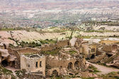 Ruins of old town Goreme, Cappadocia, Turkey  — Stock Photo