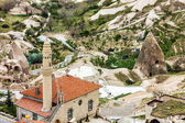 Mezquita de goreme en cappadocia, turquía. — Foto de Stock