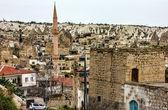 Cityscape town Goreme, Cappadocia, Turkey — Foto Stock