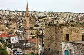 Cityscape town Goreme, Cappadocia, Turkey — Foto de Stock