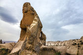 Love valley mountain landscape in Cappadocia, Turkey — Stock Photo