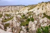Mountain landscape, Goreme, Cappadocia, Turkey — Foto de Stock