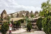 Restaurant  in Goreme, Cappadocia, Turkey. — Foto de Stock