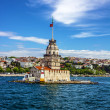 The Maiden's Tower in Istanbul, Turkey — Stock Photo #49850777