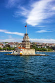 The Maiden's Tower in Istanbul, Turkey — Stock Photo