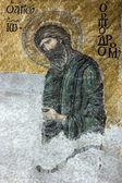 圣施洗约翰的在大教堂的 mos 的基督教马赛克图标 — 图库照片