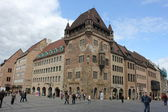 Nurnberg - Central square — Stock Photo