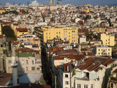View over Instanbul Turkey — Foto de Stock