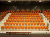 Orange chairs — Foto Stock