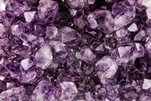 Amethyst Crystal Background — Stock Photo