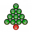 Ornament Tree — Stock Photo