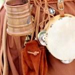 tazza di rame medievale — Foto Stock