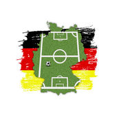 Homeland Soccer Football Germany — Stock Photo