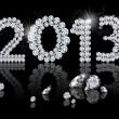 Royalty-Free Stock Photo: Brilliant New Year 2013