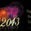 New Year 2013 Fireworks — Stock Photo #14013468