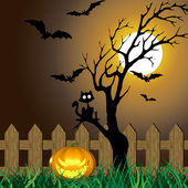 Scary Halloween Illustration — Stock Photo