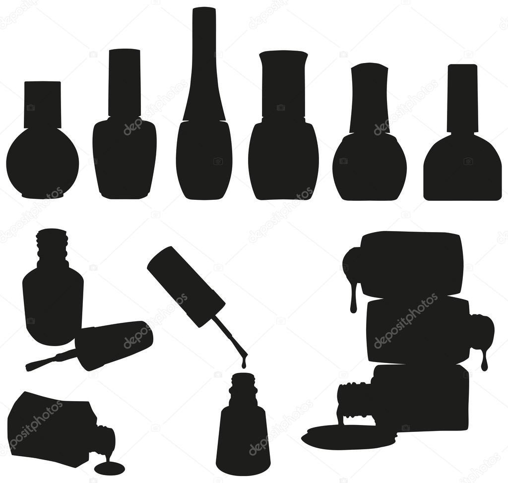 nail polish clipart vector free - photo #29