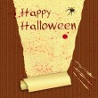 Foto Stock: Happy Halloween Bloody Wallpaper