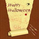 Happy Halloween Bloody Wallpaper — Stock Photo