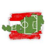 Homeland Soccer Football Austria — Stock Photo