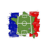 Homeland Soccer Football France — Stock Photo