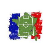 Homeland Soccer Football France — Stock Photo