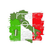 Homeland Soccer Football Italy — Stock Photo