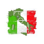 Homeland Soccer Football Italy — Stock Photo