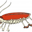 Royalty-Free Stock Vector Image: Cockroach