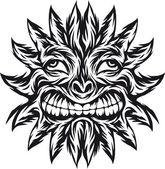 Sonne tattoo — Stockvektor