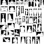 Statues — Stock Vector