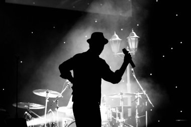 Concert with Silhoutette high ISO