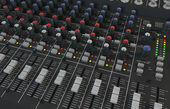 Mixer audio — Foto Stock