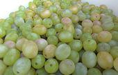 белый виноград — Стоковое фото