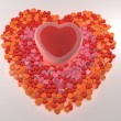 Stock Photo: Candy heart