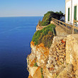 Abyss at Cap de Formentor, Majorca - Stock Photo
