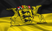Flag of Baden-Wuerttemberg — Stock Photo