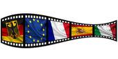 International film — Stock Photo